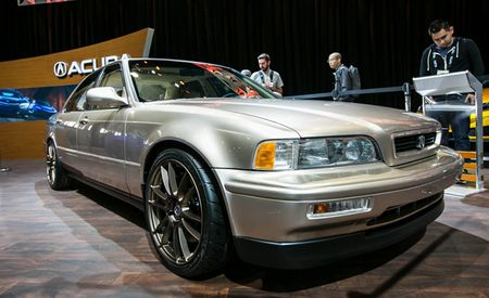 Acura Repairs Ludacris' Damaged '93 Legend, Because He Drives a '93 Legend