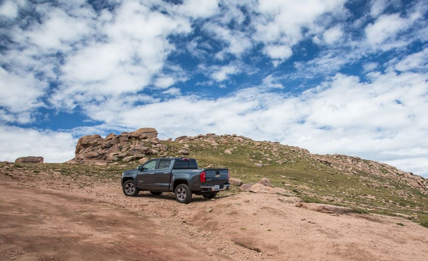 2015 Chevrolet Colorado LT 4WD and 2016 Toyota Tacoma TRD Off-Road 4x4 - Slide 14