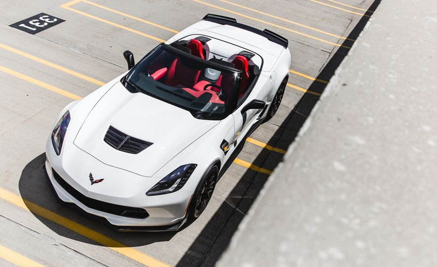 2015 Chevrolet Corvette Z06 convertible - Slide 20