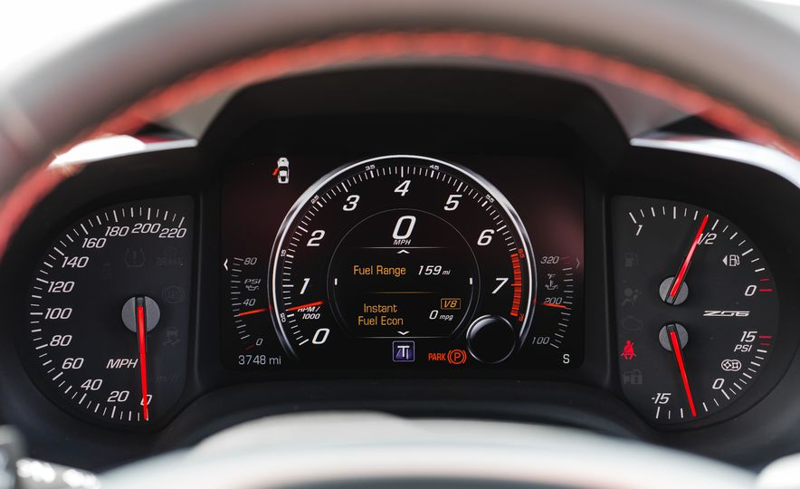 2015 Chevrolet Corvette Z06 convertible - Slide 45