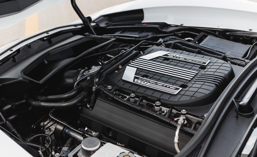 2015 Chevrolet Corvette Z06 convertible - Slide 55