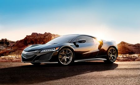 NSX-pensive: Acura Prices 2017 NSX Like the Exotic Thing It Is