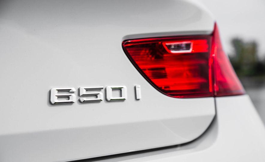 2016 BMW 650i coupe - Slide 26