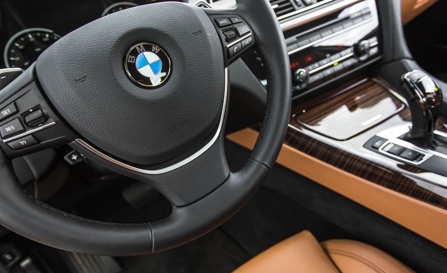 2016 BMW 650i coupe - Slide 36