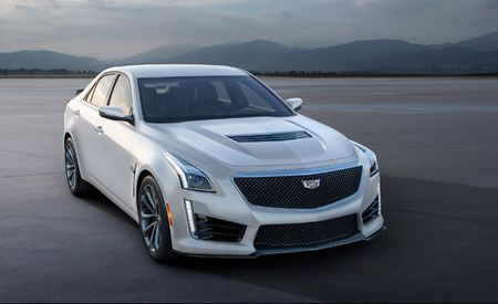 Hand-Wash Only: Cadillac ATS-V and CTS-V Crystal White Frost Editions