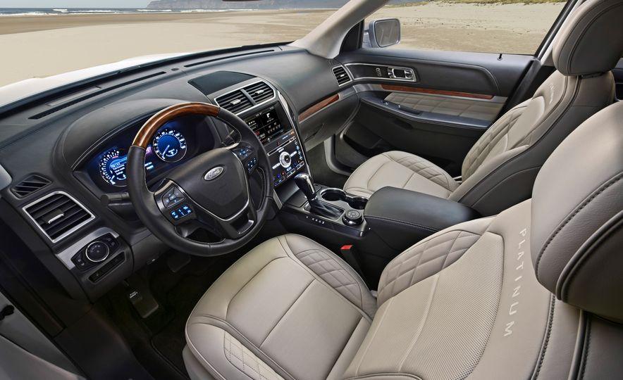 2016 Ford Explorer Platinum - Slide 44
