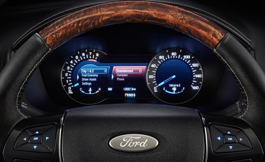 2016 Ford Explorer Platinum - Slide 48