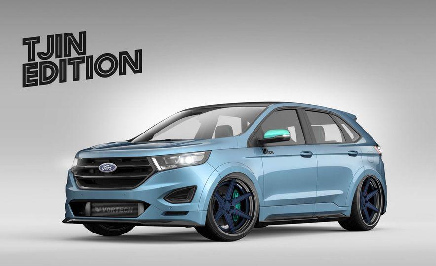 Ford Edge Tjin Edition concept - Slide 2
