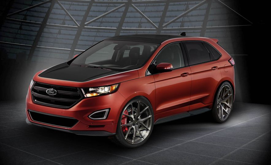Ford Edge Tjin Edition concept - Slide 4