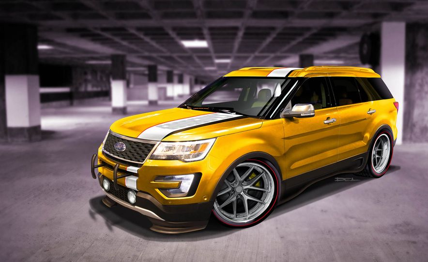 Ford Edge Tjin Edition concept - Slide 13