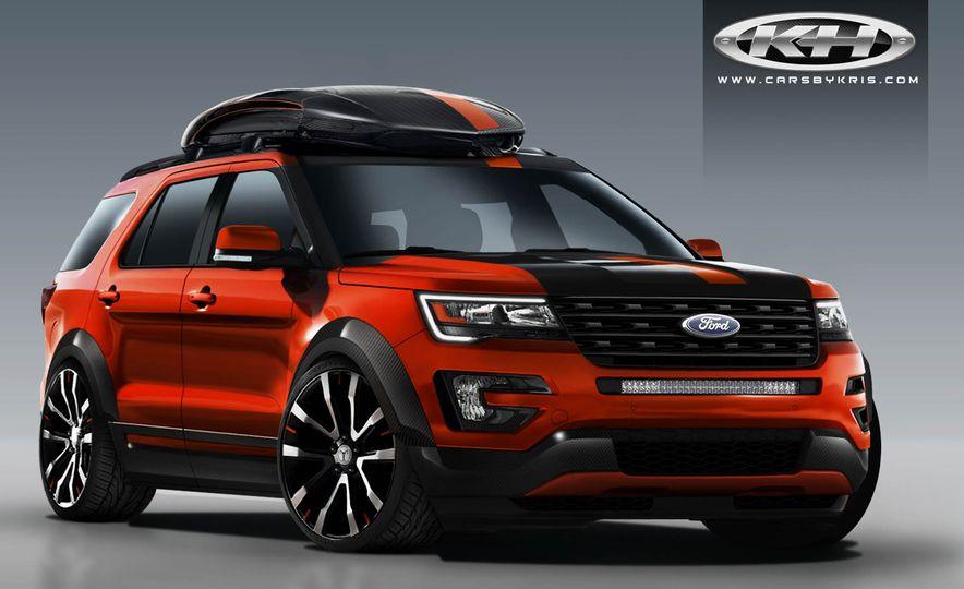 Ford Edge Tjin Edition concept - Slide 10