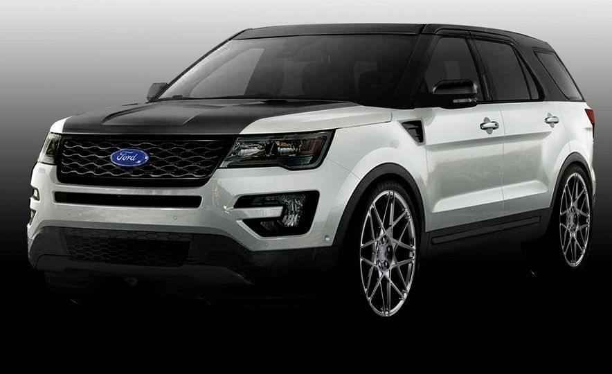 Ford Edge Tjin Edition concept - Slide 12