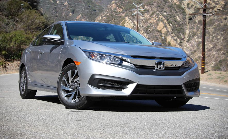 2016 Honda Civic - Slide 1