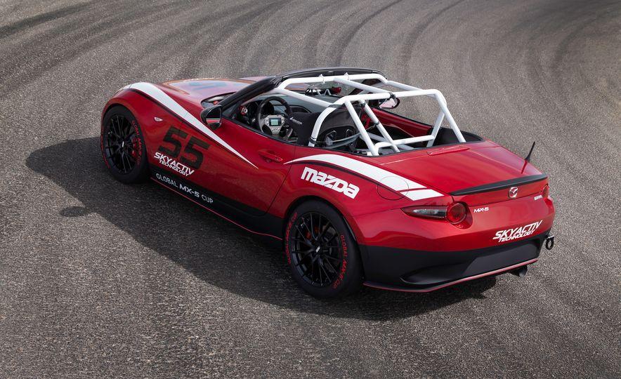 Mazda Miata Speedster concept - Slide 13