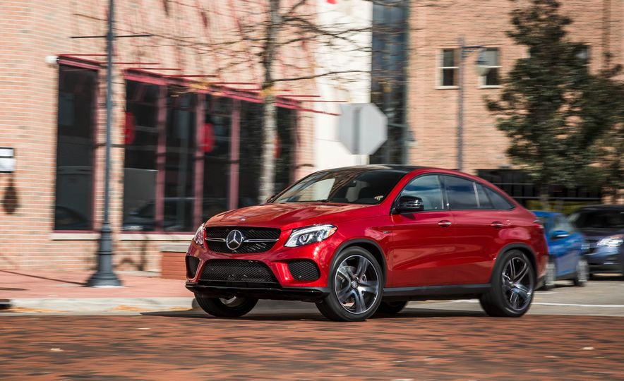 2016 Mercedes-Benz GLE450 AMG coupe - Slide 1