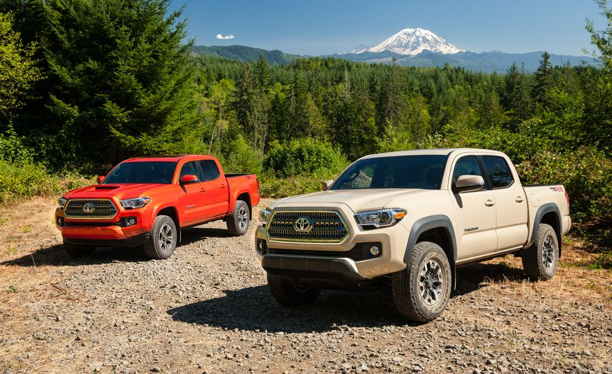 2016 Toyota Tacoma TRD Off Road 4x4 - Slide 1