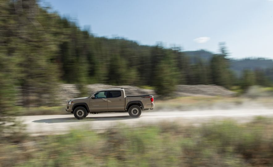 2015 Chevrolet Colorado LT 4WD and 2016 Toyota Tacoma TRD Off-Road 4x4 - Slide 29