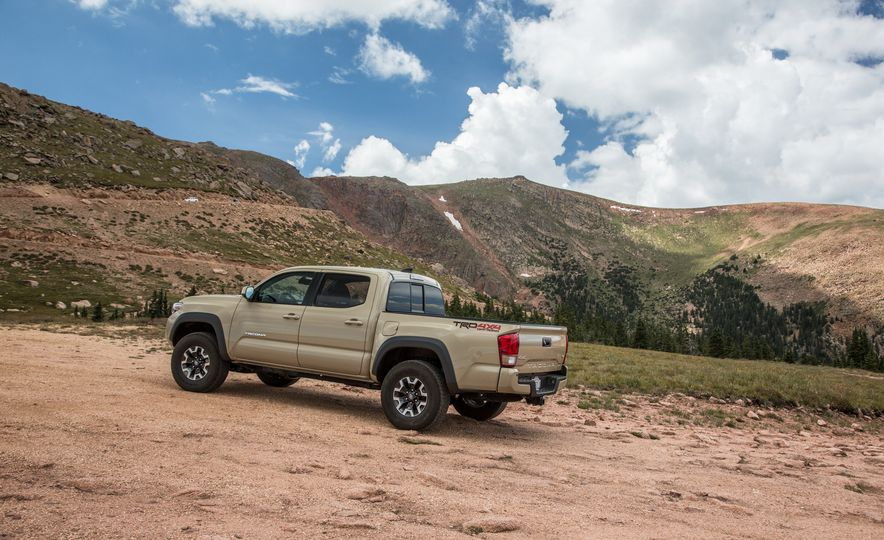 2015 Chevrolet Colorado LT 4WD and 2016 Toyota Tacoma TRD Off-Road 4x4 - Slide 34