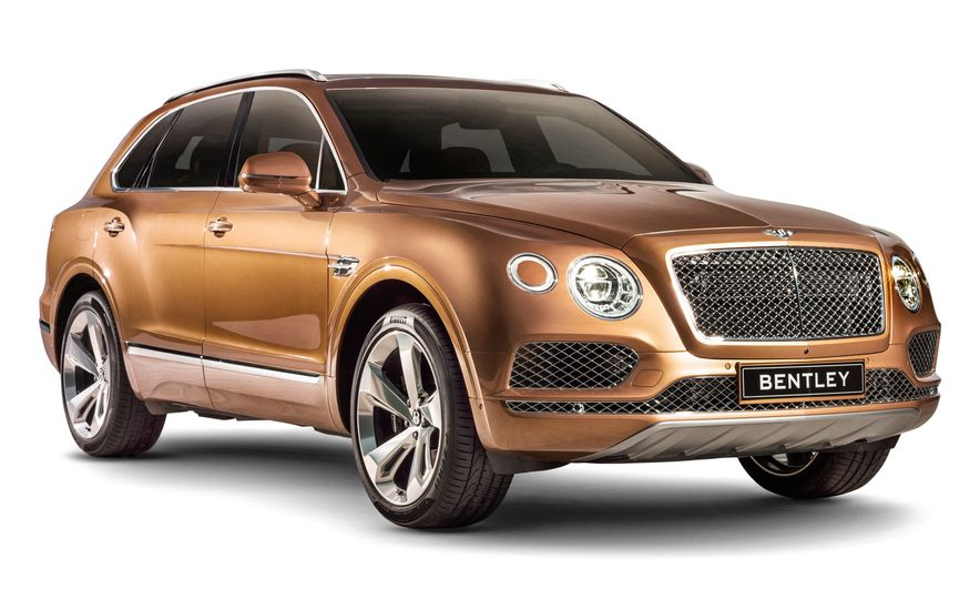 2017 Bentley Bentayga - Slide 1