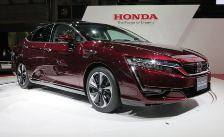 Tomorrowland: We Drive Honda's New Clarity Fuel-Cell Vehicle