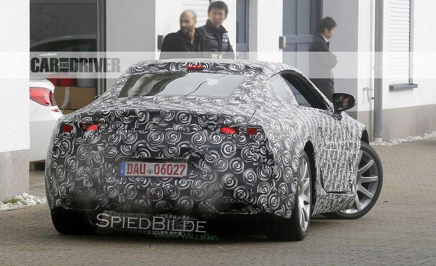2017 Lexus LC (spy photo) - Slide 11