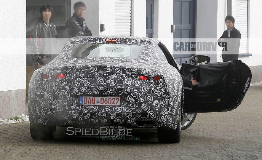 2017 Lexus LC (spy photo) - Slide 12
