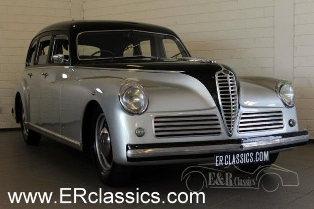 For Sale Classic Alfa Romeo C Limo News Car And Driver - Old alfa romeo for sale