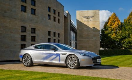 High-Bred Hybrids: Aston Martin Plans to Electrify All Models