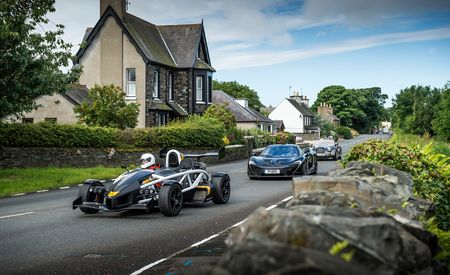 Britain's Most Brutish: Ariel Atom 3.5R, McLaren P1, and Morgan Plus 8