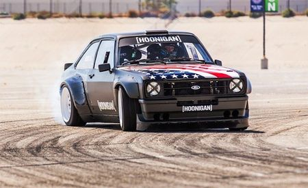 Ken Block's New Gymkhana Car Is the World's Coolest '78 Ford Escort [w/ Video]