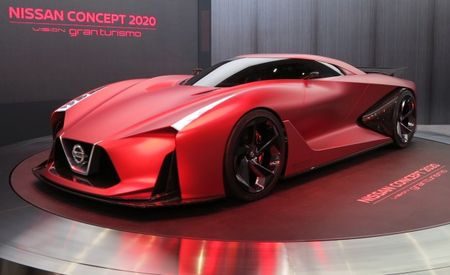 Nissan's Vision Gran Turismo Concept Comes to Life in Tokyo, Presages Next GT-R