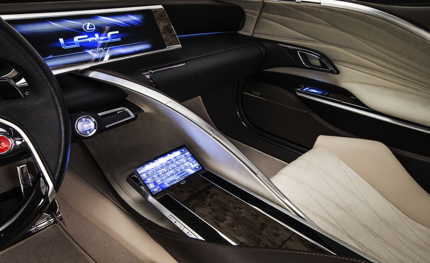 2017 Lexus LC (spy photo) - Slide 36