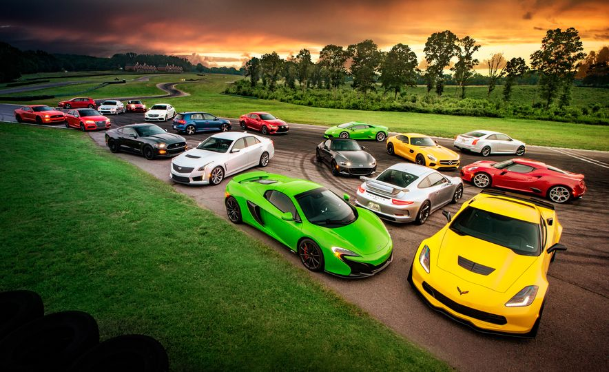 Lightning Lap 2015: The Year's Hottest Performance Cars Attack VIR! - Slide 1