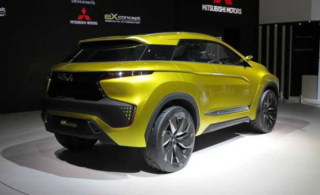 Mitsubishi Ex Concept An All Electric Example Of Mitsus Design