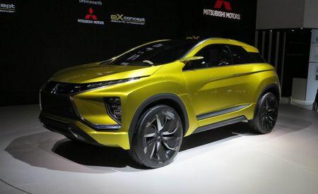 Mitsubishi eX Concept: An All-Electric Example of Mitsu's Design Future