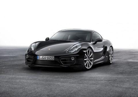 Black Beauty: Porsche Introduces Cayman Black Edition