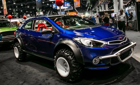 Meet the Mud Bogger, the Coolest Kia Forte Koup in Existence