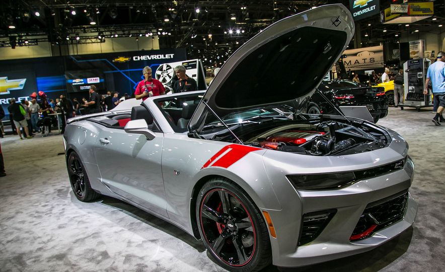 Chevrolet Camaro SS Red Accent Package concept - Slide 1