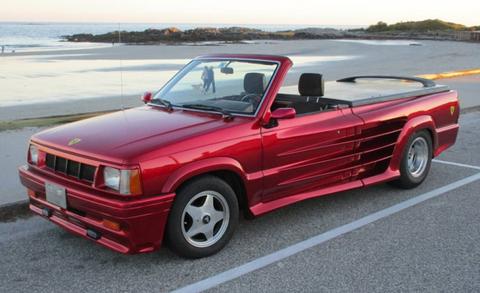 1989 Mazda B2000 Testarossa