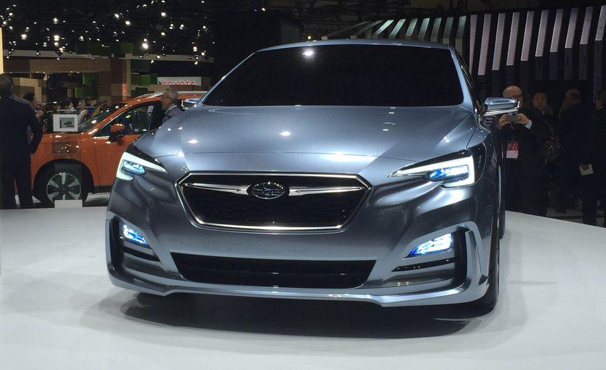 Subaru Impreza concept - Slide 3