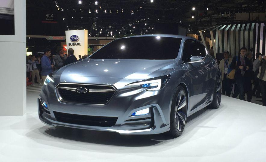 Subaru Impreza concept - Slide 4