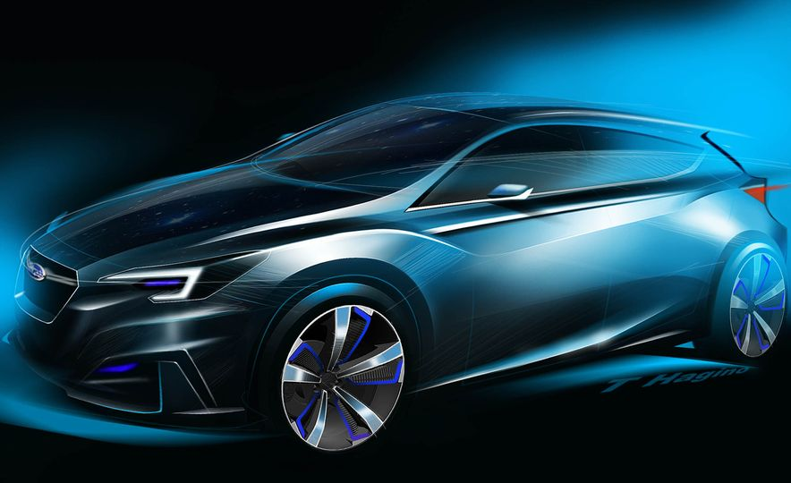 Subaru Impreza concept - Slide 22