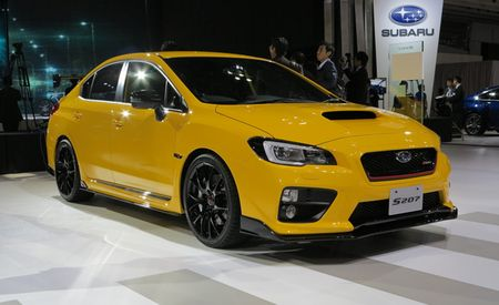 Japan-Only Subaru WRX STI S207 Is Your New Forbidden Fuji Apple