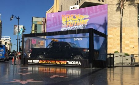 Toyota Creates Bad-Ass Homage to Marty McFly's Pickup