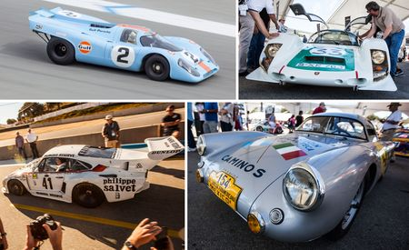 A Cavalcade of Historic Racing Porsches at Rennsport Reunion 5