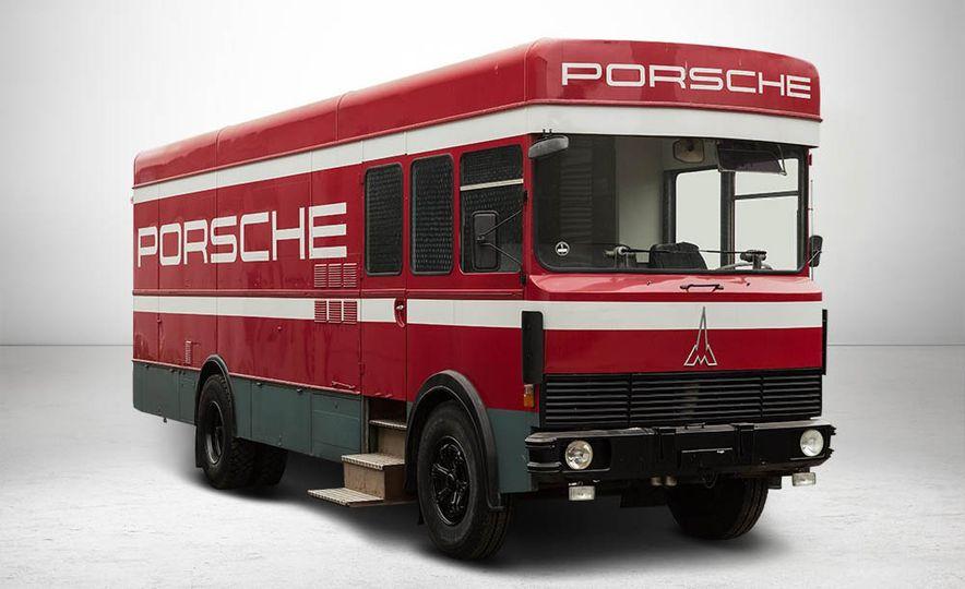 1977 Porsche 935 race car and Magirus transport truck - Slide 3