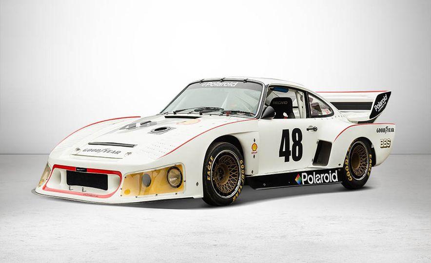 1977 Porsche 935 race car and Magirus transport truck - Slide 4