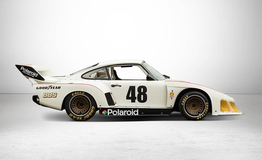 1977 Porsche 935 race car and Magirus transport truck - Slide 7