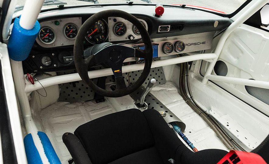 1977 Porsche 935 race car and Magirus transport truck - Slide 11