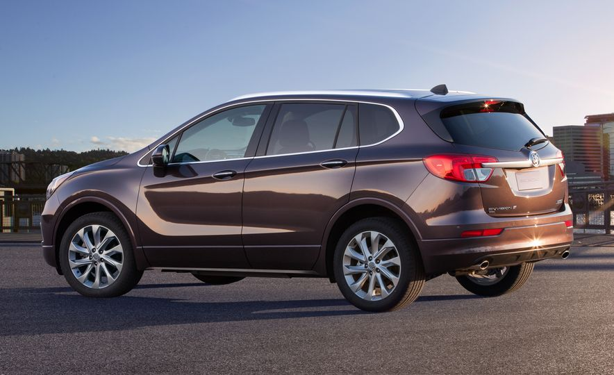 2015 Buick Envision (Chinese spec) - Slide 3